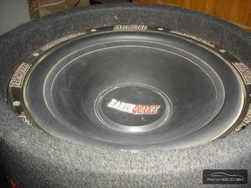 "J.V.C Earthquake 12"" 1000W Bass Tube Enclosure Subwoofer USA Image-6"