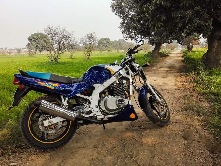 Suzuki GS500E - 1991  Image-1