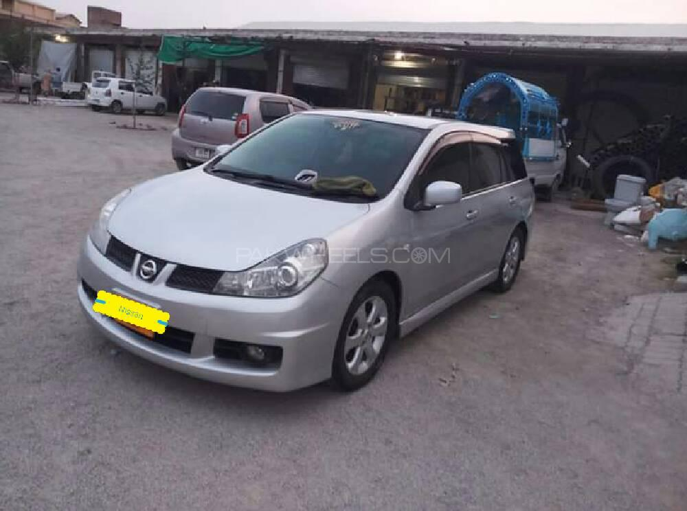 Nissan Wingroad 15M Four Plus Navi HDD Safety 2007 Image-1