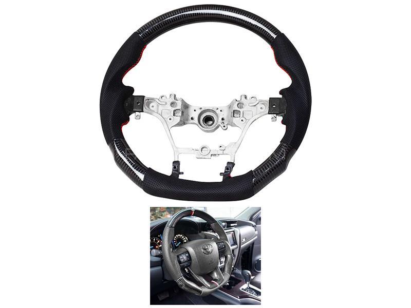 Toyota Hilux Revo 2016-2020 Carbon Steering Wheel  in Karachi