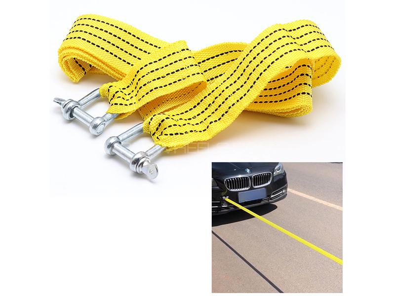 Tow Hook With Heavy Duty Ropes Image-1