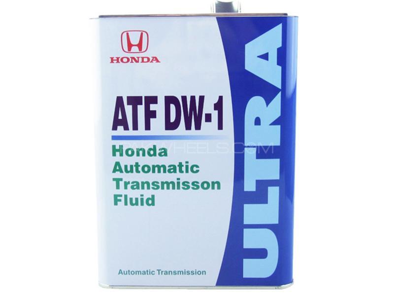 Honda Genuine ATF DW-1 Ultra Transmission Fluid - 4 Litre Image-1
