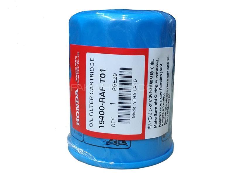 Honda Genuine Oil Filter For Honda City 2009-2016 15400-RAF-T01 Image-1