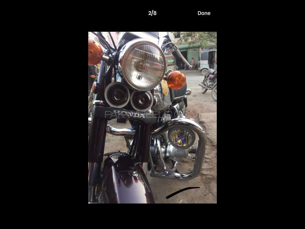 Honda CD 200  1981 Image-1