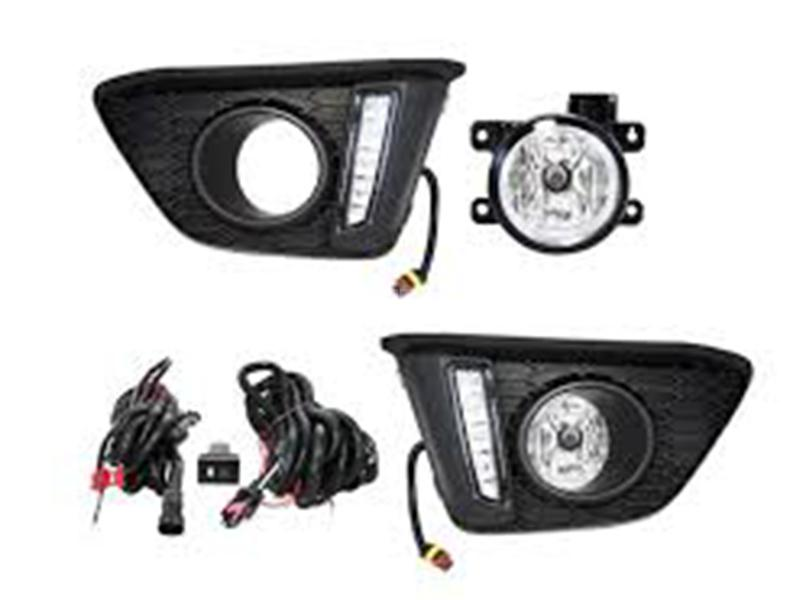 DLAA Fog Lights For Honda Fit 2013-2020 - HD625L in Karachi