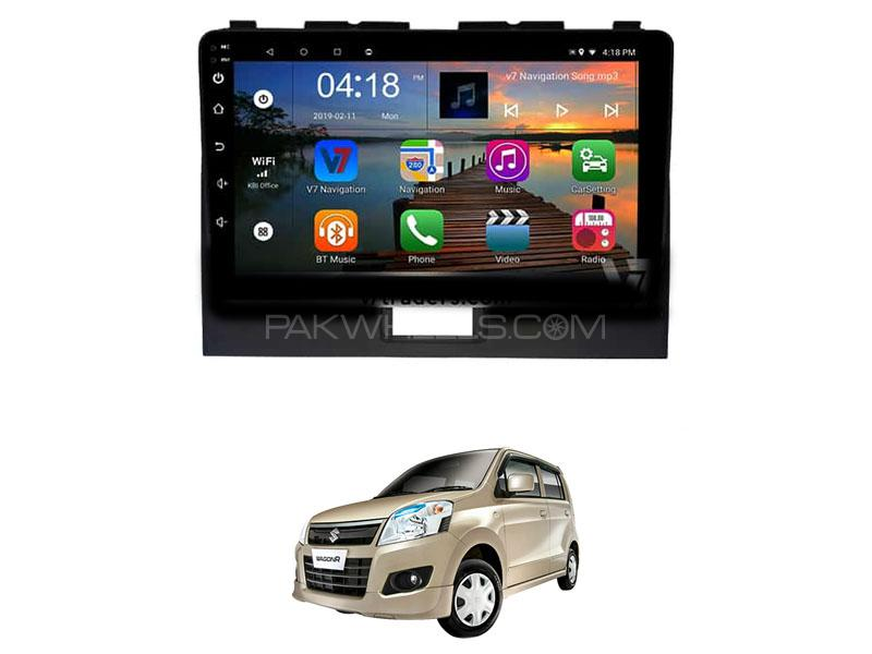 V7 Navigation 10″ Android Screen For Pak Suzuki Wagon R  Image-1
