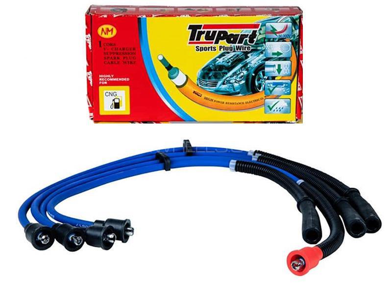 Trupart Sports Plug Wire For Mitsubishi Lancer 2004-2008 - PW-319 5MM in Karachi