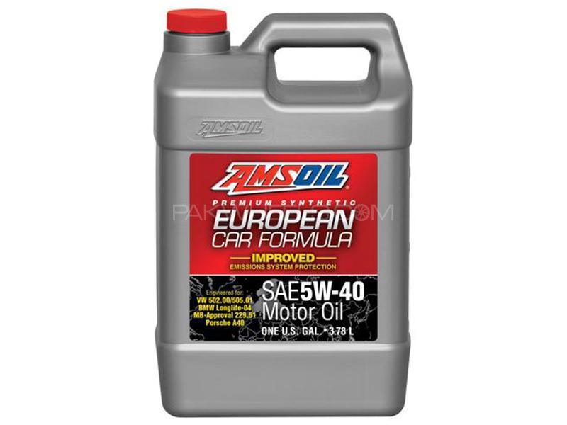 AMSOIL SN 5W-40 ESP Euro MB+BMW - 3.7 Litre Image-1