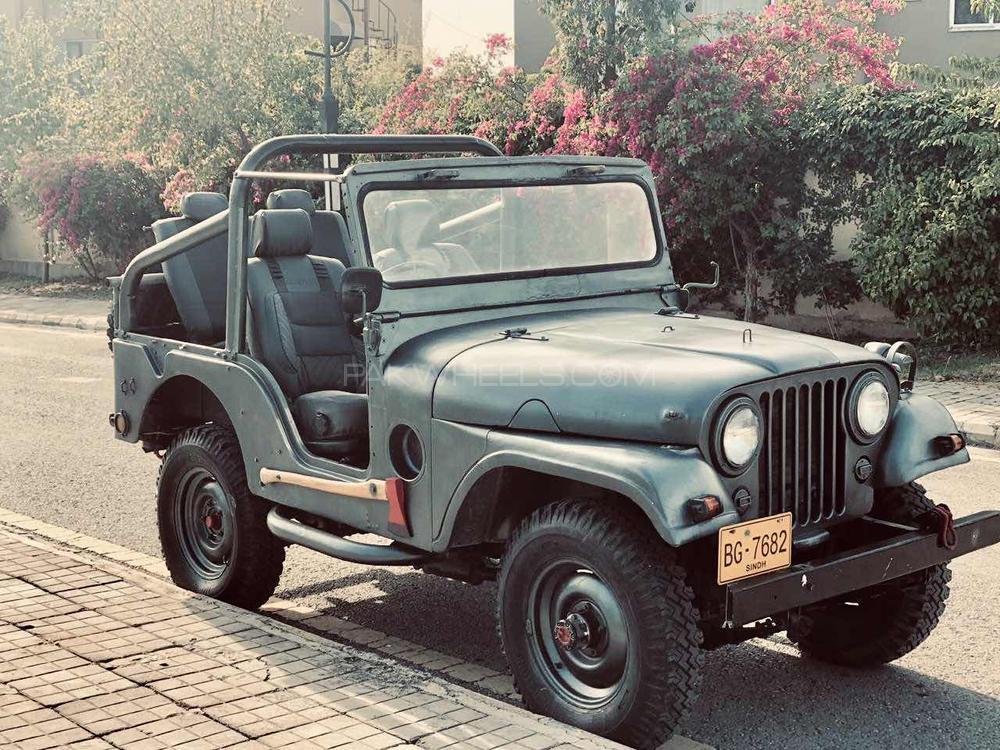 Jeep CJ 5 - 1963 M38 Image-1