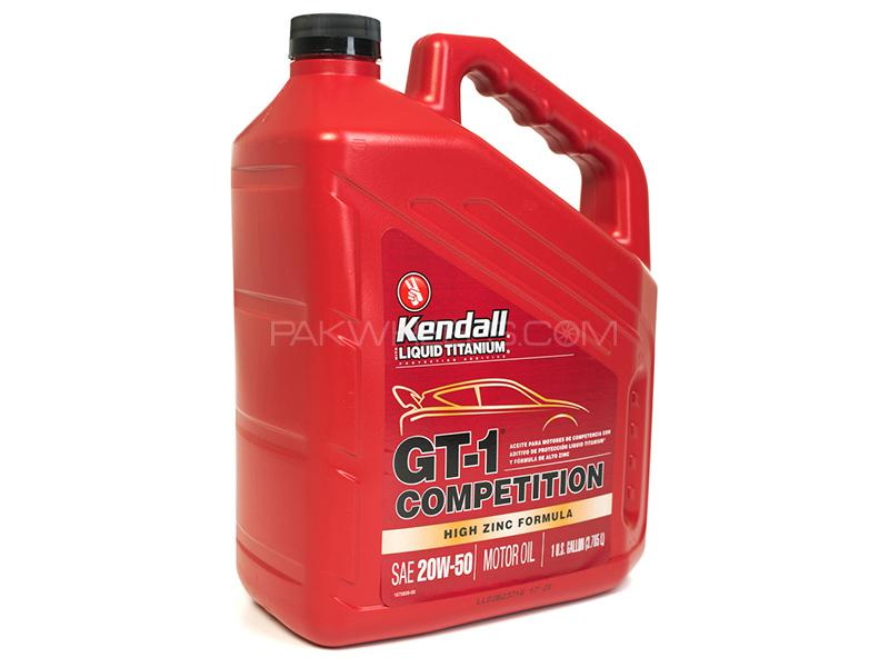 Kendall Synthetic SN Competition 20W-50 - 4 Litre Image-1