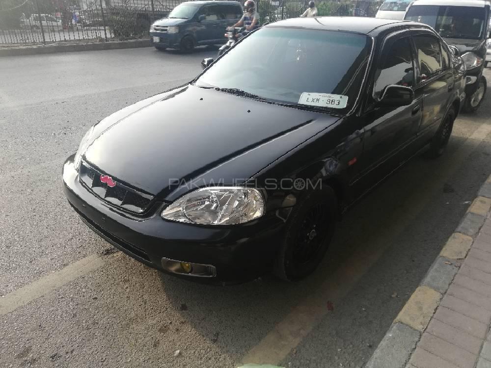 Honda Civic - 1999 Black Beauty Image-1