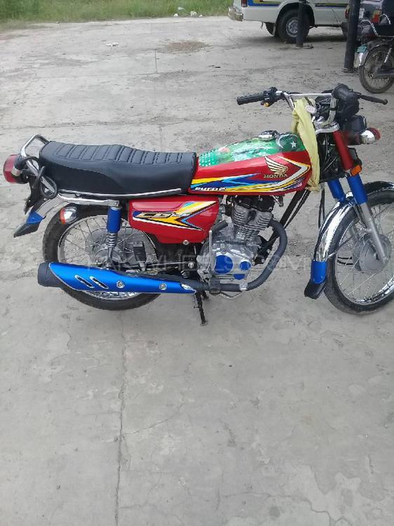 Honda CG 125 - 2019 Honda 125 Image-1