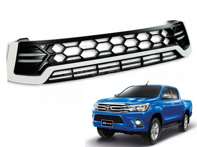 Toyota Hilux Revo DRL Front Grill For 2016-2020 - FA3 Image-1