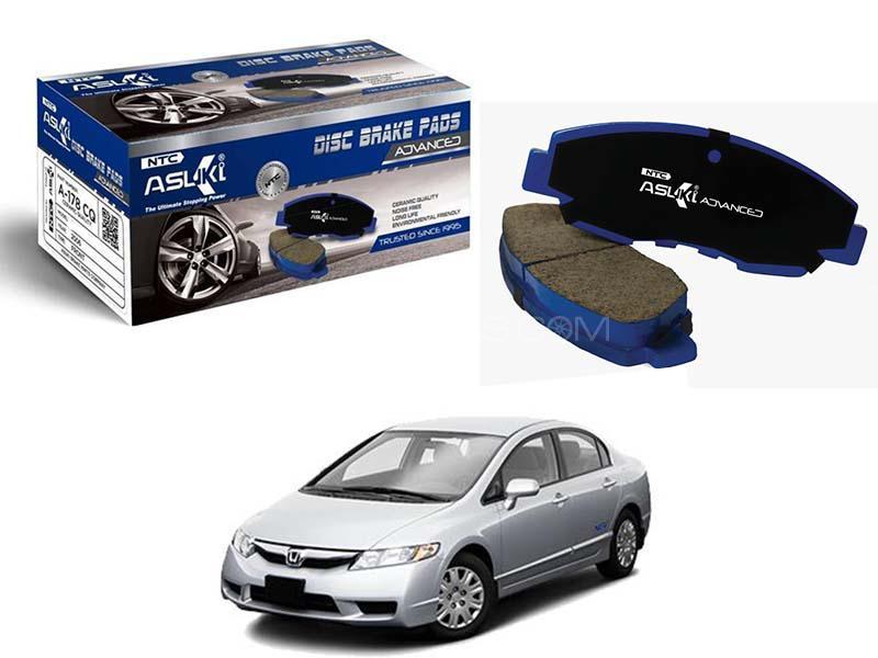 Honda Civic Reborn 2006-2012  Asuki Advanced Brake Pads Front - A-178 AD Image-1