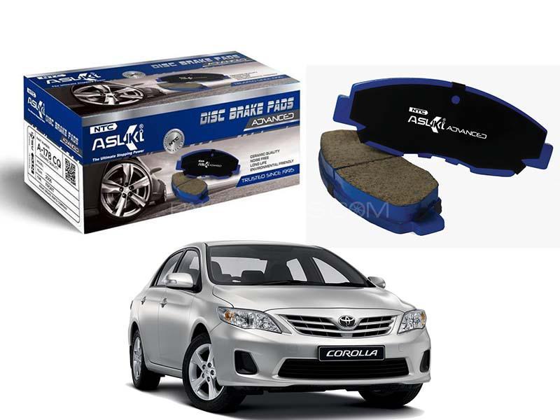 Asuki Advanced Rear Brake Pad For Toyota Corolla 2009-2019 - A-79 AD Image-1