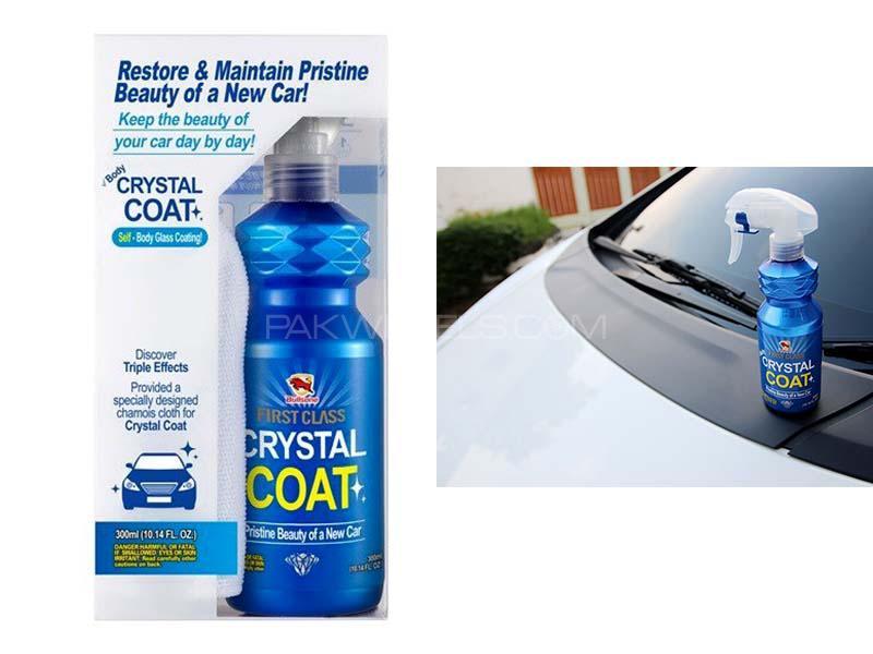 Bullsone First Class Body Crystal Coat + Microfiber Towel Image-1