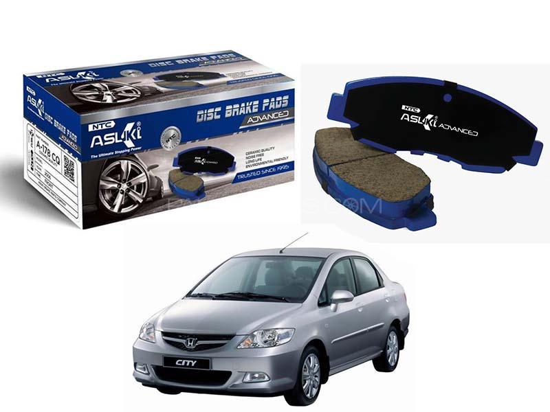 Honda City 2006-2008 Asuki Advance Front Brake Pads - A-176 AD Image-1