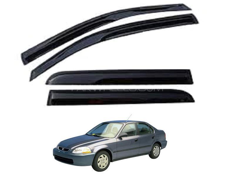 Honda Civic 1996-1999 Sun Visor Air Press - Black  Image-1