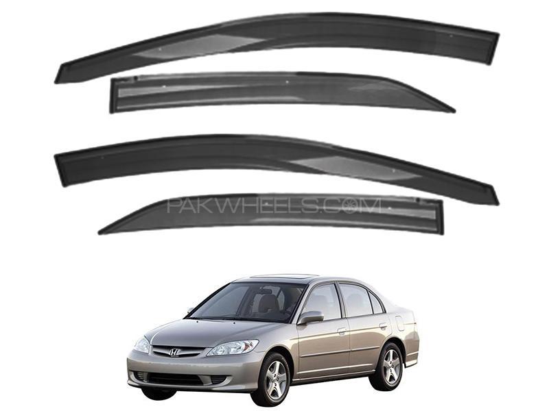 Honda Civic 2004-2006 Sun Visor Air Press - Black  Image-1