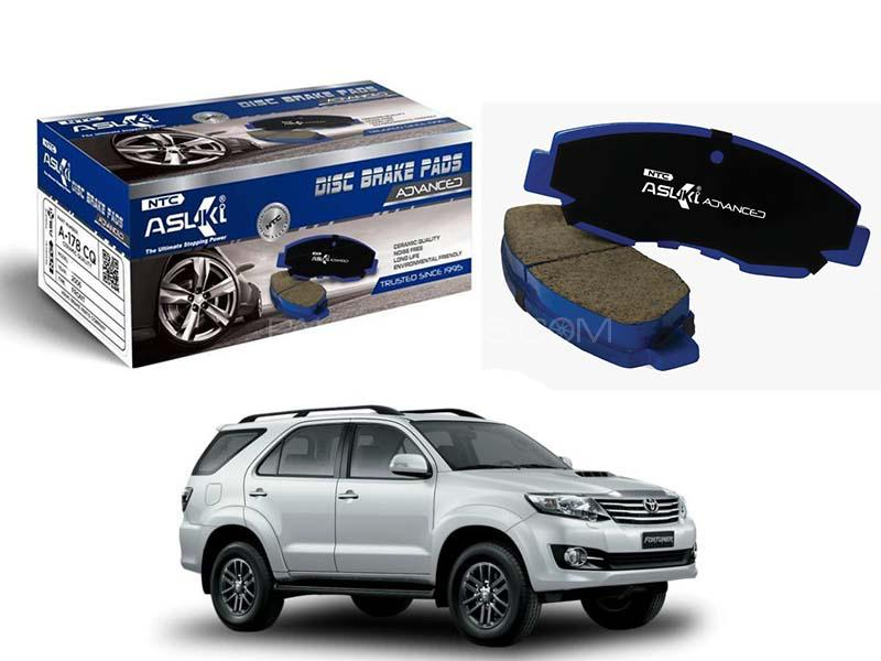 Toyota Fortuner 2004-2009 Asuki Advanced Brake Pads Front - A-219B AD in Karachi