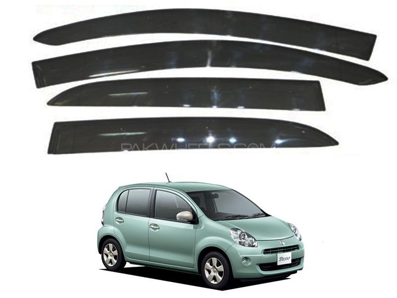 Toyota Passo 2010-2014 Sun Visor Air Press - Black  in Karachi