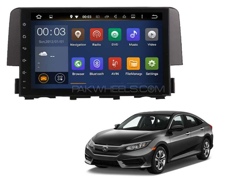 Premier Android Tab Head Unit for Civic 2016-2020 Image-1