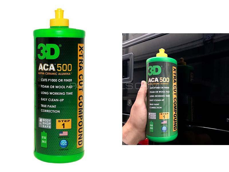 3D ACA 500 X-TRA Cut Compound - 32oz Image-1