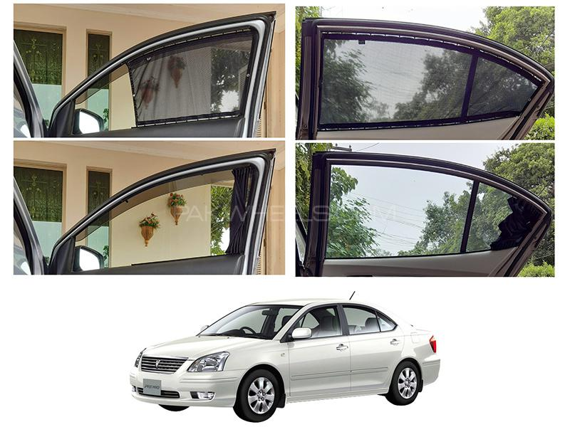 Awra Foldable Fitting Curtain Black Shades For Toyota Premio 2001-2007 in Lahore