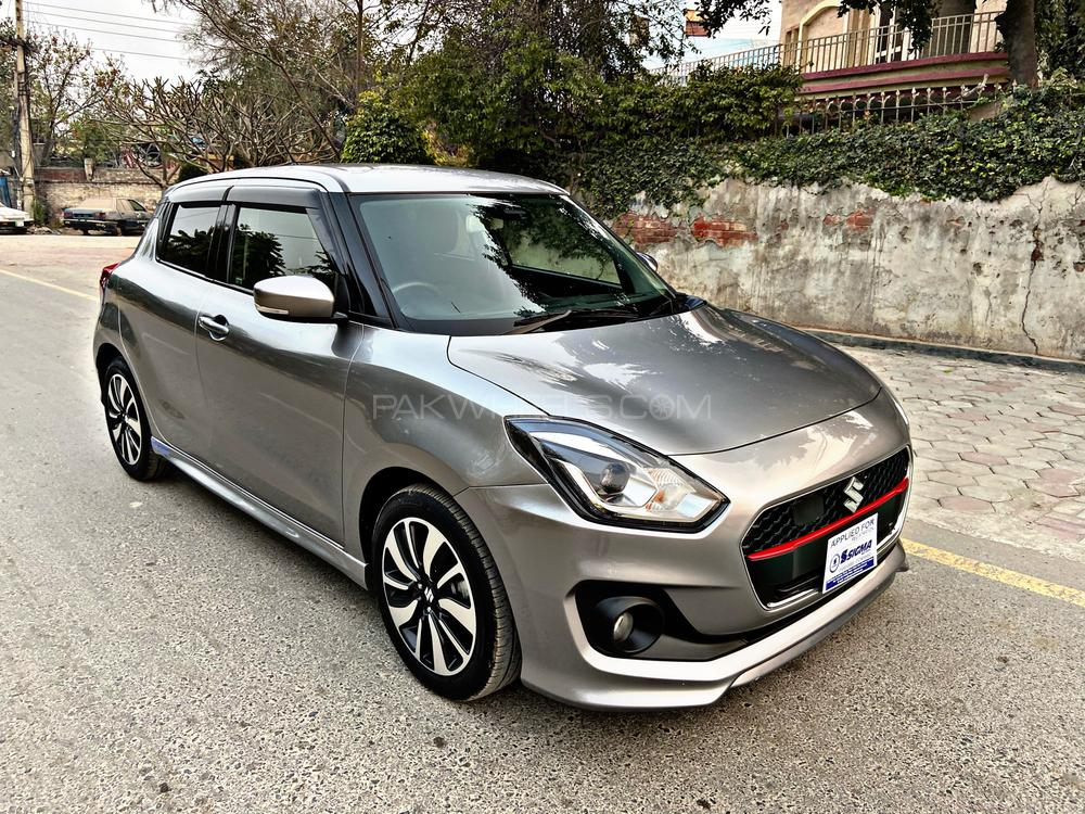 Suzuki Swift Turbo RS Model Year 2017 Import Year 2020 Silver color  Multimedia Steering Leather Steering Cruise Control Paddle Shifters Radar Lane Departure Assist  Heated Seat LED Projection Lamps  Alloy Wheels Only 13000km driven Brand New Car
