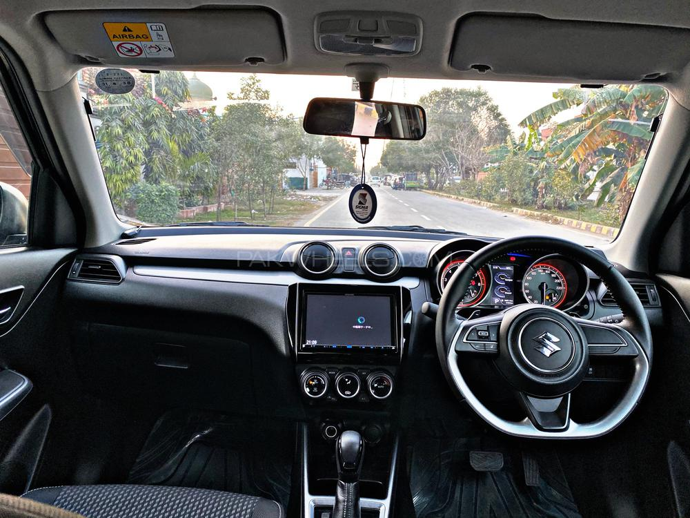 Suzuki Swift Turbo RS Model Year 2018 Import Year 2019 Black Color  4 Grade Car Multimedia Steering Leather Steering Paddle Shifters Heated Seats Powerful Turbo Engine 11000km driven Only LED Projection Lamps LED Fog Lamps Alloy Wheels Brand New Tyres