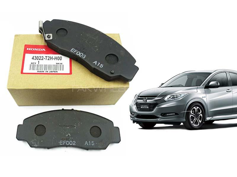 Honda Vezel Genuine Rear Brake Pad For 2013-2020 - 43022-T2H-H00 Image-1