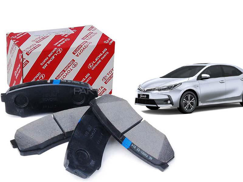 Toyota Genuine Front Brake Pads For Toyota Corolla 2014-2020 Image-1