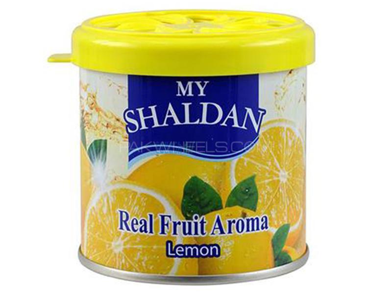 Shaldan Gel Perfume - Lemon - Made In Thailand Image-1