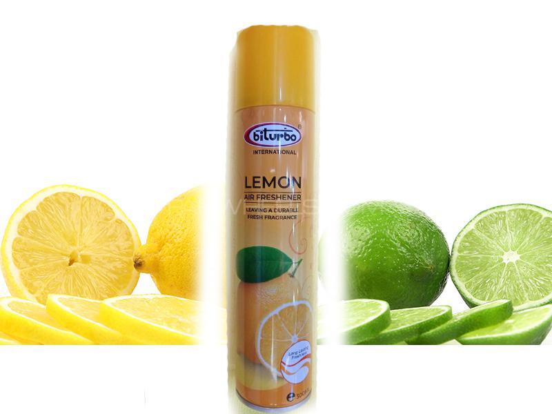 Biturbo Lemon Air freshener Aerosol Interior Fragrance 300ml Image-1