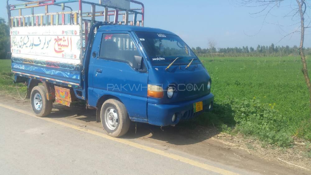 Hyundai Shehzore Pickup H-100 (With Deck and Side Wall) 2007 Image-1