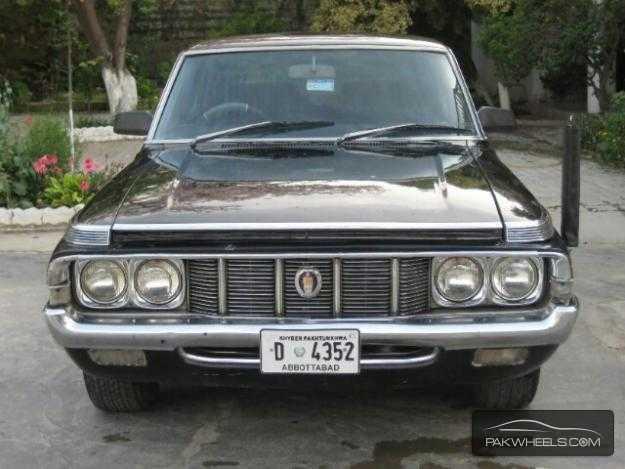 Toyota Crown 1973 — Идеи изображения автомобиля