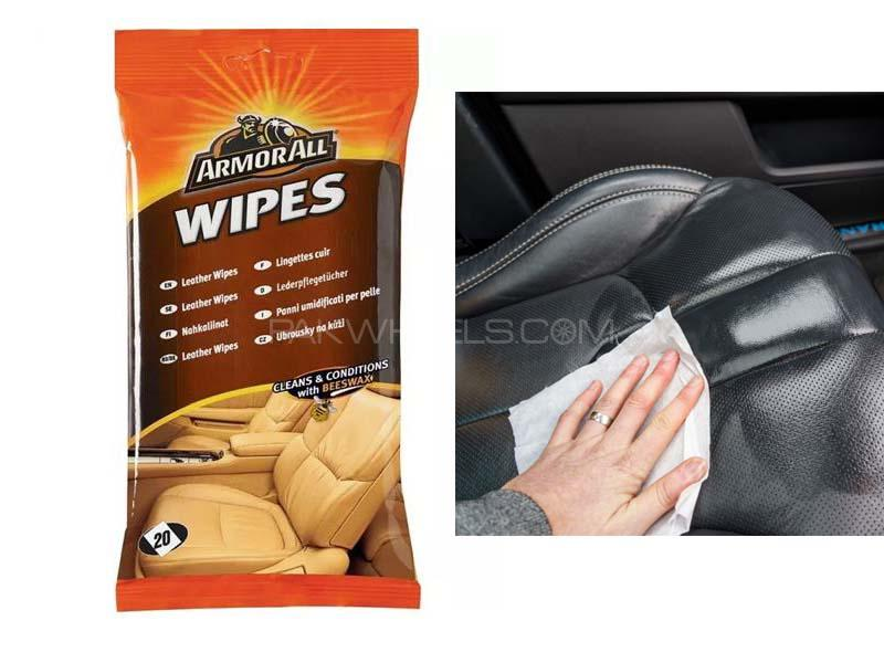 ArmorAll Leather Flow Wipes 20ct in Lahore