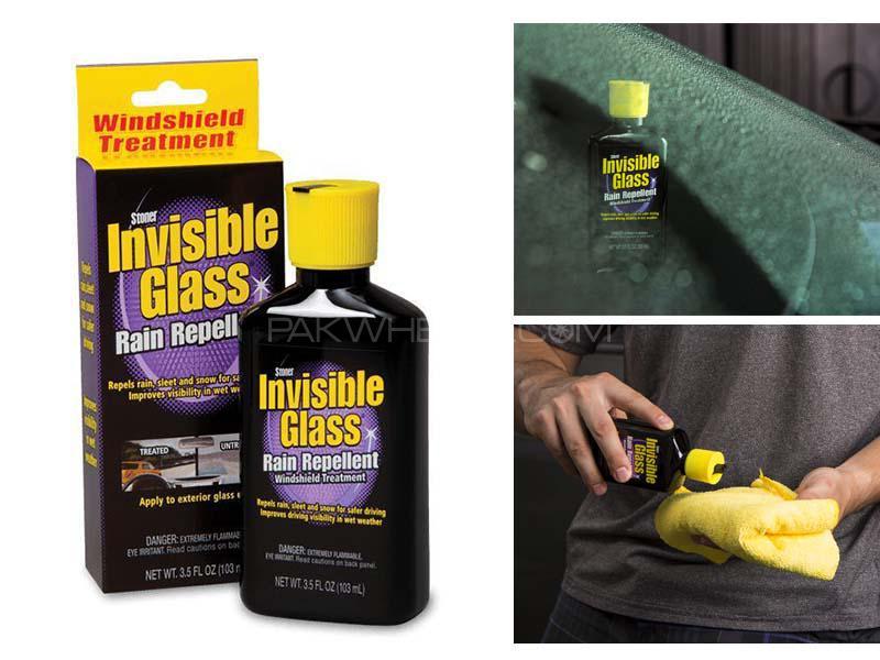 Invisible Glass Rain Repellent Treatment 3.5 oz Image-1