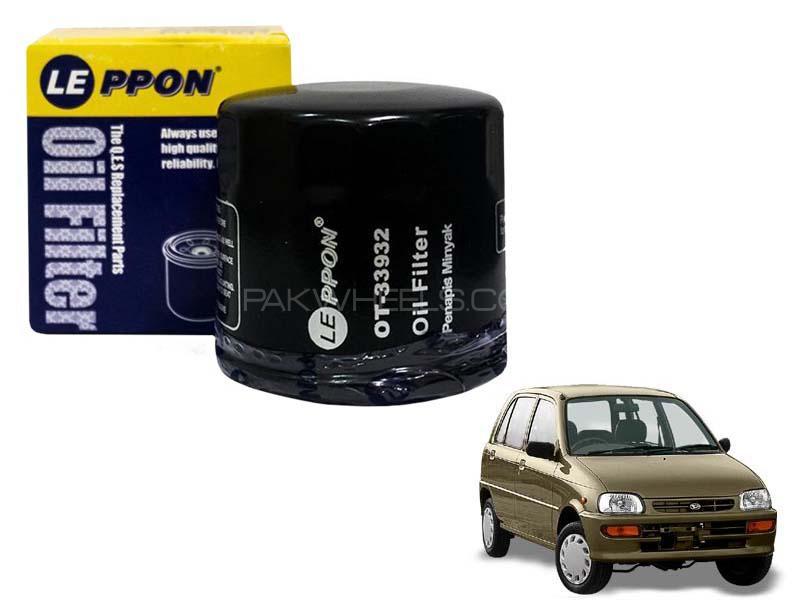 Leppon Oil Filter For Daihatsu Cuore 2000-2012 Image-1