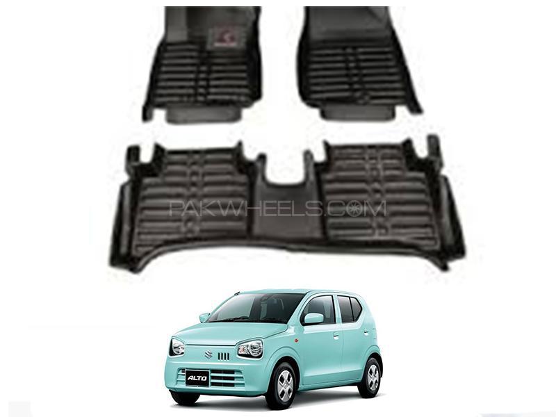5D Floor Mat For Suzuki Alto 2019-2020 - Black in Karachi