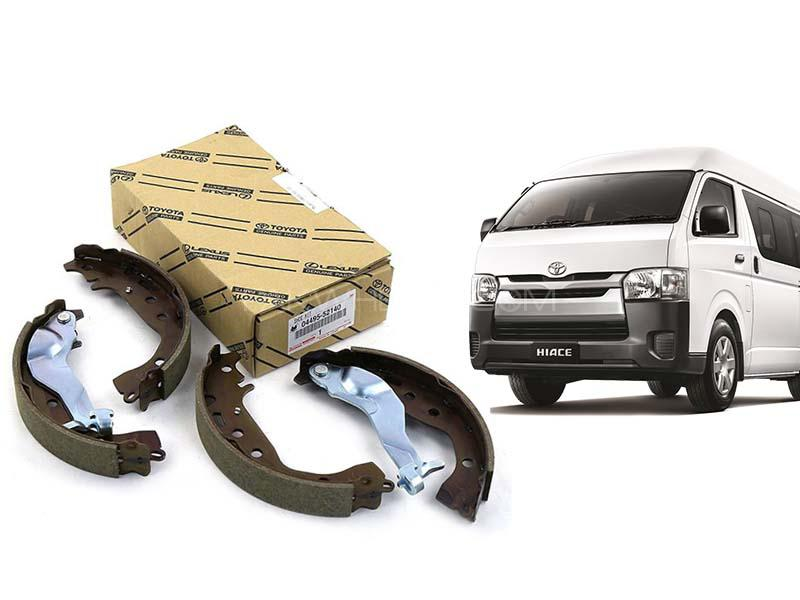 Toyota Hiace Geunine Rear Brake Shoe For 2000-2020 - 04495-26240 Image-1