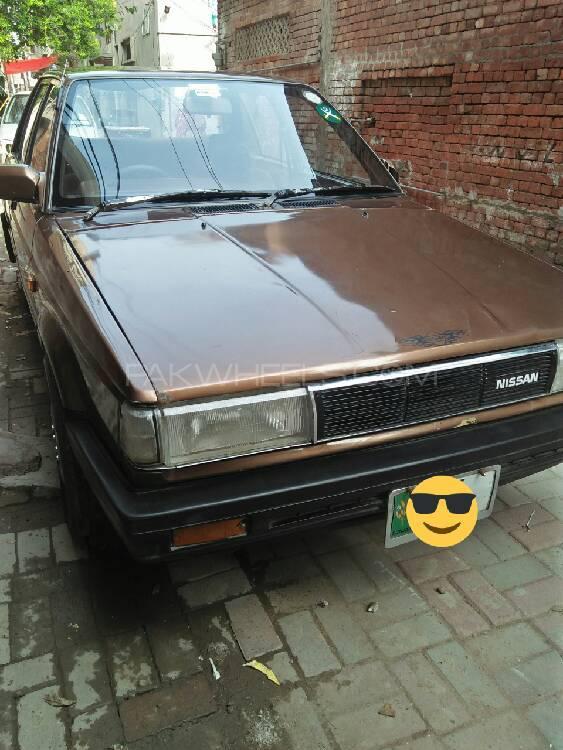Nissan Sunny IDLX 1989 Image-1