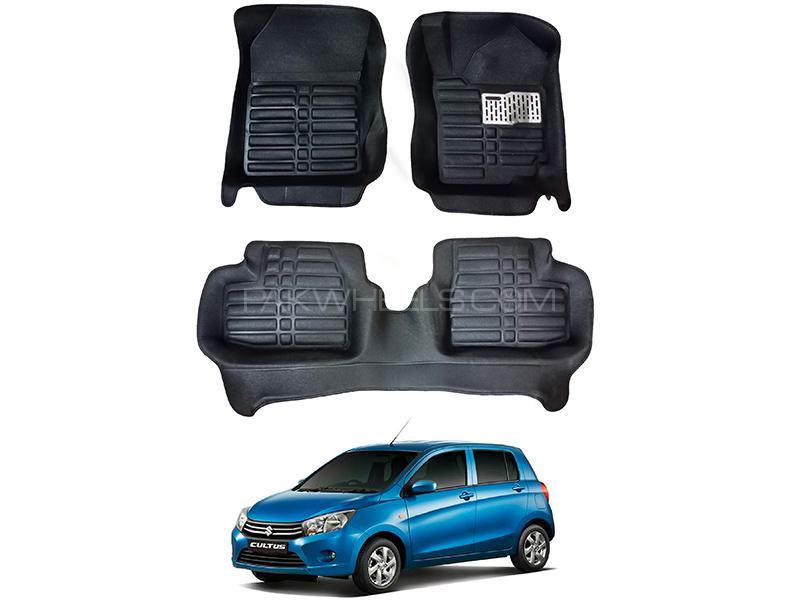 5D Custom Floor Mats Black For Suzuki Cultus 2017-2020 in Karachi