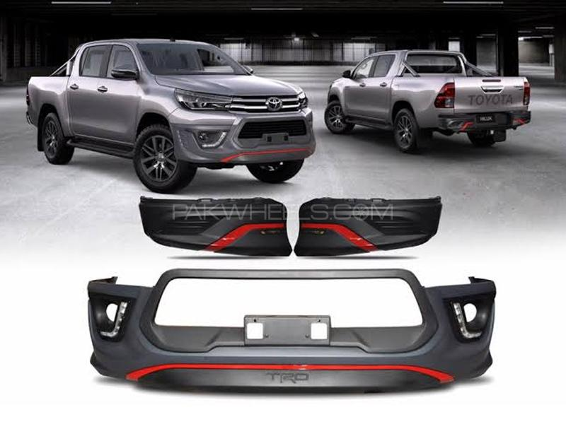 Toyota Hilux Revo TRD Body Kit Front And Back Bumper Kit For 2016-2020 in Lahore