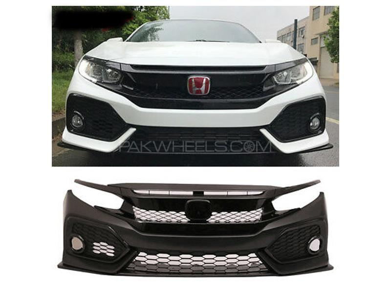 Honda Civic Si Conversion Bumpers Kit 2016-2020 Image-1