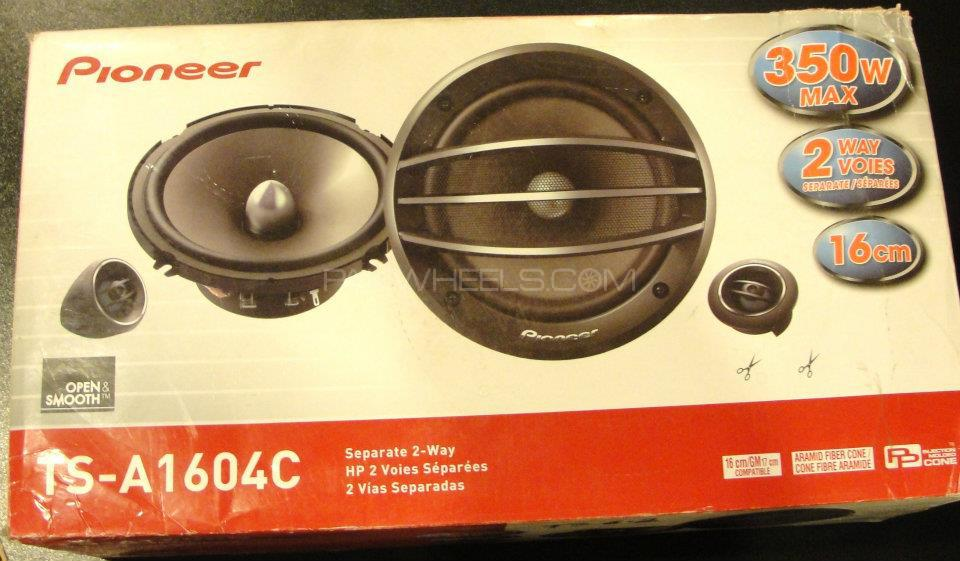 poineer ts 1604 component speakers Image-1