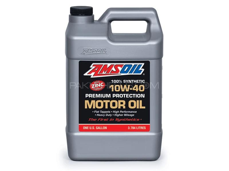 Amsoil 10w40 Premium Protection Synthetic Motor Oil 3.784L Image-1