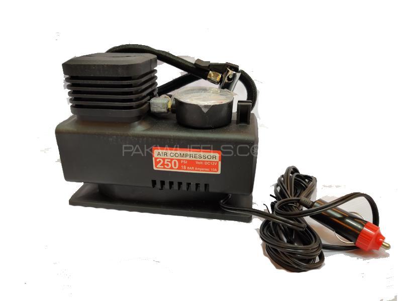Car Emergency Sos Single Cylinder Air Compressor 12v Image-1