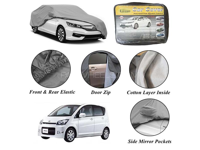 Daihatsu Move 2014-2020 Non Wooven Inner Cotton Layer Car Top Cover  Image-1