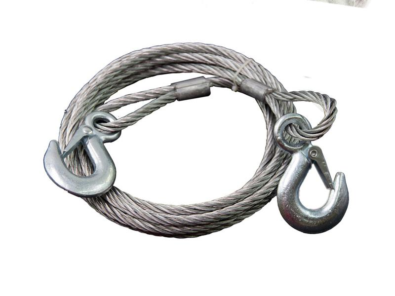 Car Towing Chain 6mm 4Meters Image-1